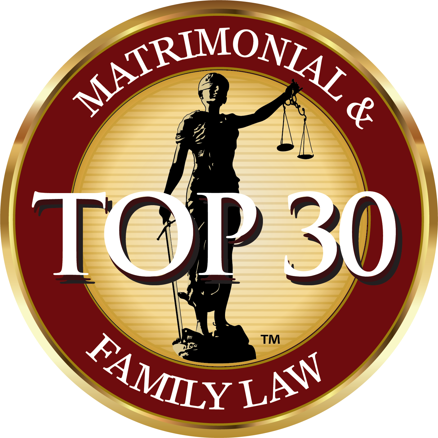 The National Advocates Top 30 Logo